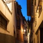 Empty alleyway in Granada. Spain. — Stock Photo #39432599