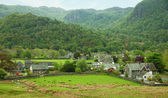 Village in Lake District — Stock Photo