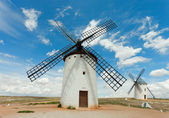Medieval Windmills of Campo de Criptana. — Stock Photo