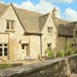 Traditional Cotswold cottages in England — Stock Photo