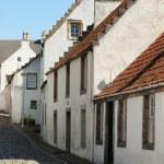 Old street in Culross, Scotland, UK — Stock Photo