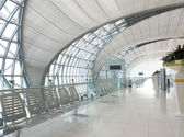 Airport Terminal Gate. — Stock Photo