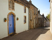 Street in Culross. Scotland, UK — Stock Photo