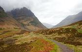 Pass Of Glencoe,Scotland's Highland — Zdjęcie stockowe