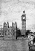 Buildings of Parliament with Big Ben — Stock Photo