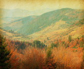 Autumn in Carpathian Mountains — Stock Photo
