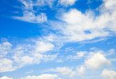 Beautiful summer clouds — Stock Photo