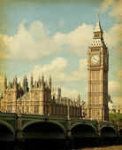 Buildings of Parliament with Big Ban tower — Stock Photo
