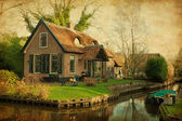 Old house in Giethoorn — Stock Photo