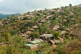 Obóz dla uchodźców birmańskich — Zdjęcie stockowe