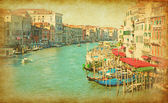 The Grand Canal in Venice, Italy. — Stock Photo