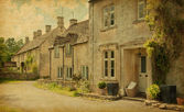 Cotswold district of Gloucestershire, England — Stock Photo