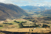 Beautiful view near Queenstown — Stock Photo