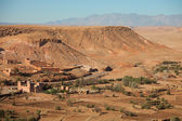Neighborhood of Ait-Ben-Haddou — Stock Photo