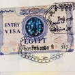 Stock Photo: Entry visa
