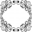 Stock Vector: Frame ornament vintage.