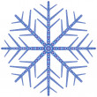 Stock Vector: Snowflake.