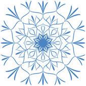 Sněhová vločka. — Stock vektor