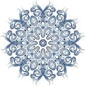 снежинка — Cтоковый вектор