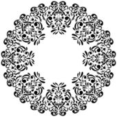 Circle ornament. — Stock Vector