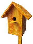 Wooden nest — Stock Photo