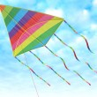 Children's toy - a kite - Stock Photo