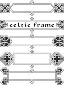 Set celtic frame — Stock Vector
