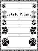 Frame in Celtic style — Stock Vector