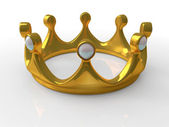 Ancient gold crown  — Stock Photo