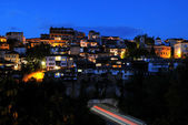 Night View of Veliko Tarnovo — Stock Photo