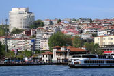 View of Istanbul from Bosphorus — Stock Photo