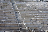 Rows of Ancient Theater in Plovdiv — Stockfoto