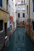 Fragment of Venetian Canal — Stock Photo
