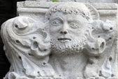 Bas-relef en la iglesia de san biagio — Foto de Stock