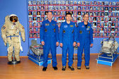 Astronauts at the Museum — Stock Photo