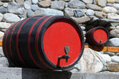 Two Wine Casks — Stock Photo