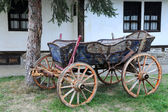 Vintage Four-wheeled Cart — Foto de Stock