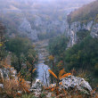 Stock Photo: Emen Canyon near Veliko Tarnovo in Late Fall