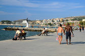 Promenade in Kusadasi — Stock Photo