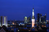 Tallinn at Night — Stock Photo