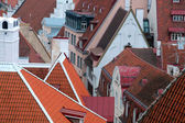 Closeup View of Old Town in Tallinn — Stock Photo