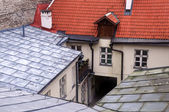 Roofs and Courtyard — Stock Photo