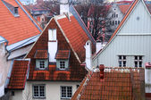 Old Town Houses in Tallinn — Stock Photo