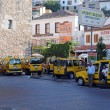 Stock Photo: Cabstand in Kusadasi