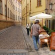 Old Street in Prague — Stock Photo #38648693