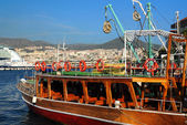 In the Port of Kusadasi — Stock Photo