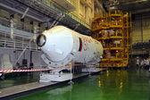 Terceira fase da soyuz booster — Fotografia Stock