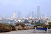 Foggy Tel Aviv — Stock Photo