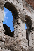 Detail of Ancient Colosseum in Rome — Stock Photo