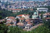 Veliko Tarnovo and Cathedral — Stock Photo